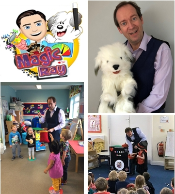 Hull magician for children;s shows and birthday parties